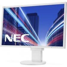 Ver NEC MultiSync E243WMi Full HD IPS Color blanco