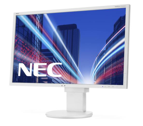 Ver NEC MultiSync EA224WMi Full HD IPS Color blanco