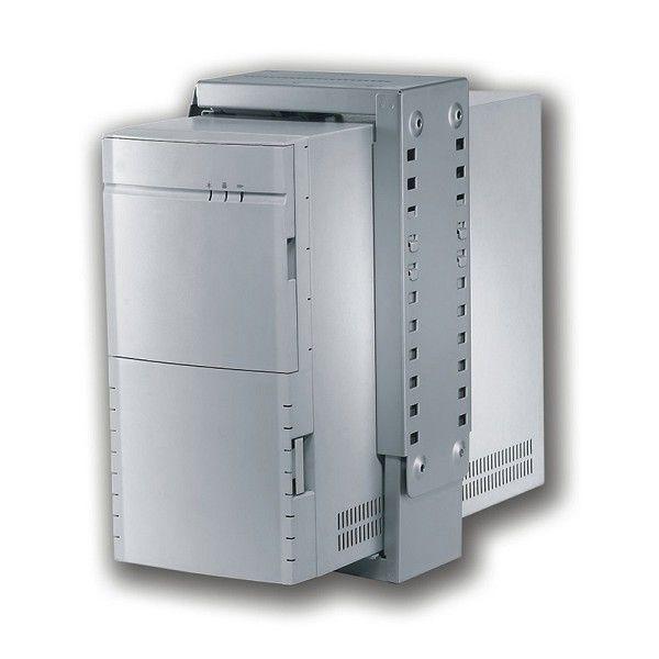 Ver Newstar CPU D100WHITE Desk mounted CPU holder Color blanco soporte de CPU