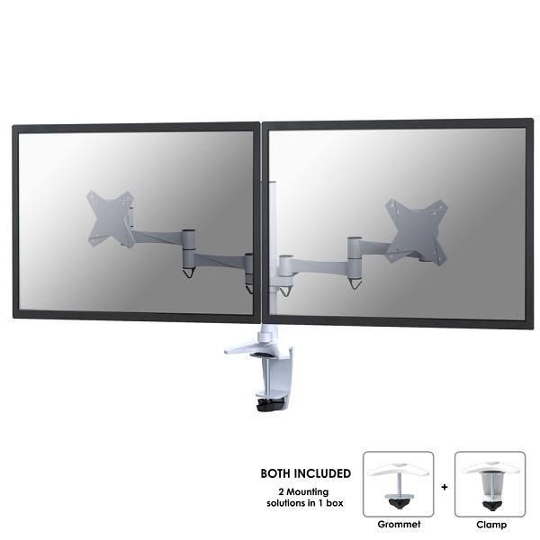 Ver Newstar FPMA D1330DWHITE soporte de mesa para pantalla plana