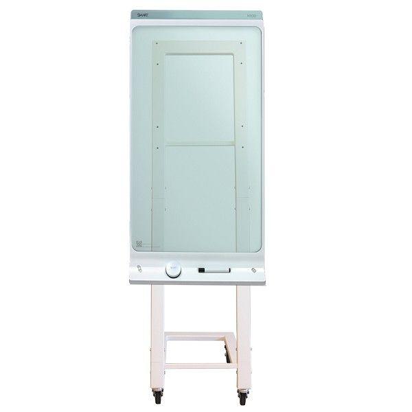 Newstar Ns Skm100white 42 Portable Flat Panel Floor Stand Color Blanco Soporte De Pie Para Pantalla Plana