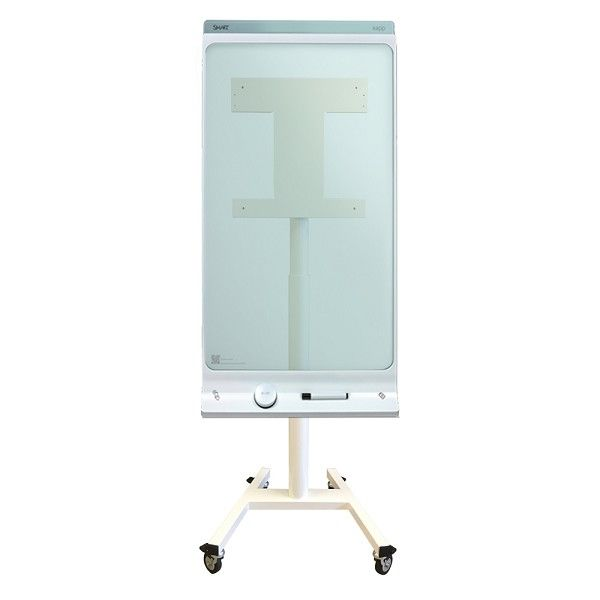 Ver Newstar NS SKM300WHITE 42 Portable flat panel floor stand Color blanco soporte de pie para pantalla plana