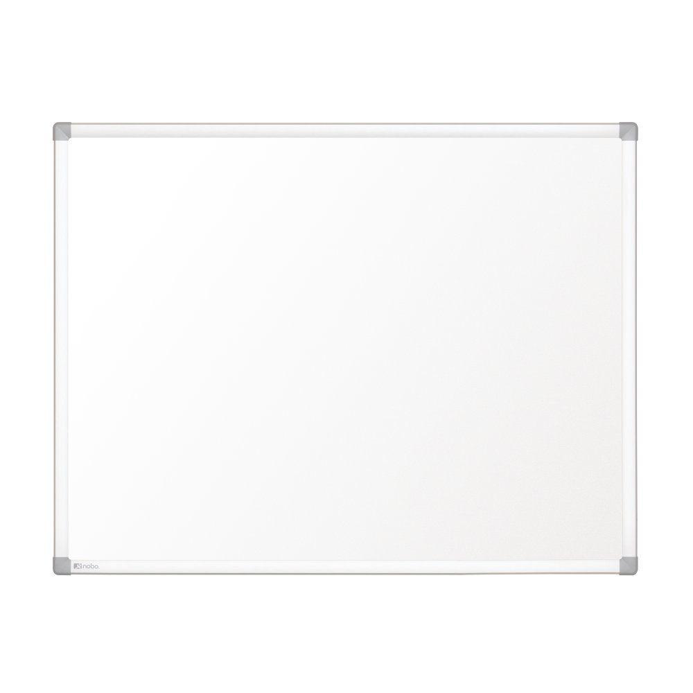 Nobo Pizarra blanca Prestige magnetica acero vitrificado 900x600 mm con marco de aluminio