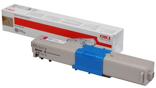 OKI 46508714 Toner 1500paginas Magenta toner y cartucho laser