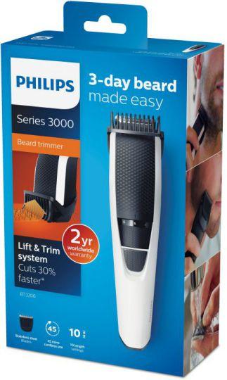 Philips Beardtrimmer Series 3000 Barbero Bt3206
