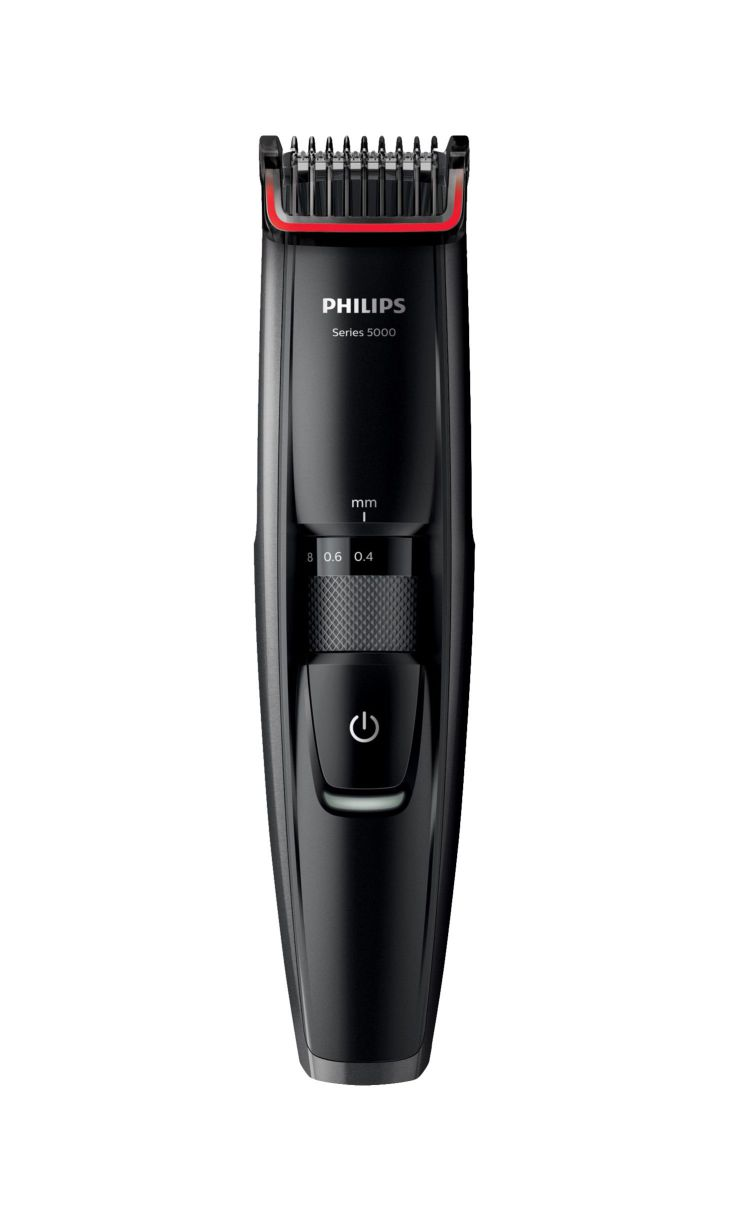 Ver Philips BEARDTRIMMER Series 5000 Barbero BT5200