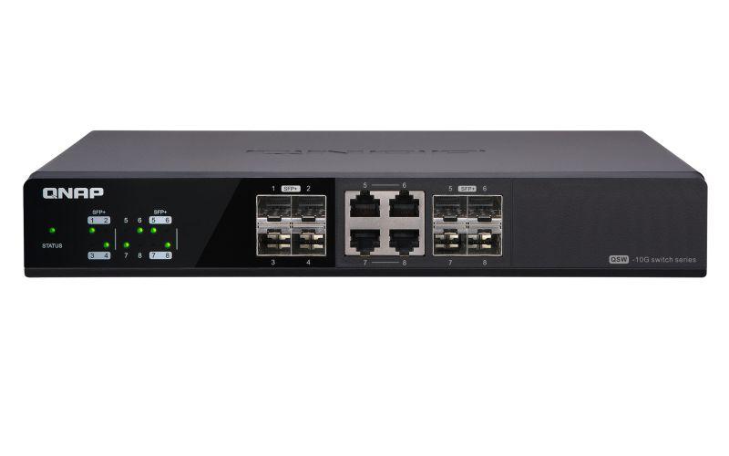 QNAP QSW 804 4C No administrado None Negro switch