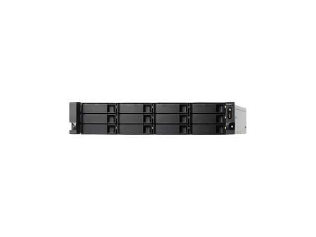 QNAP TS 1253BU RP J3455 Ethernet Bastidor 2U Negro NAS