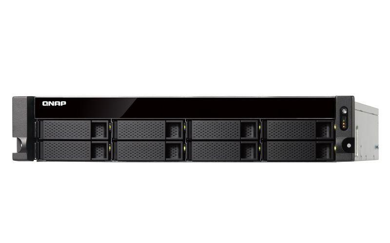QNAP TS 863XU RP NAS Bastidor 2U Ethernet Negro