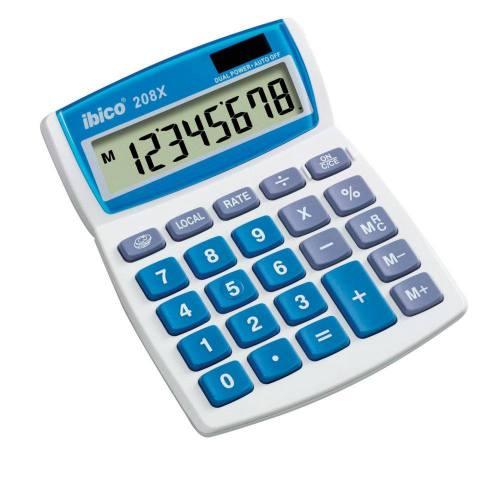 Rexel Calculadora sobremesa Ibico 208X