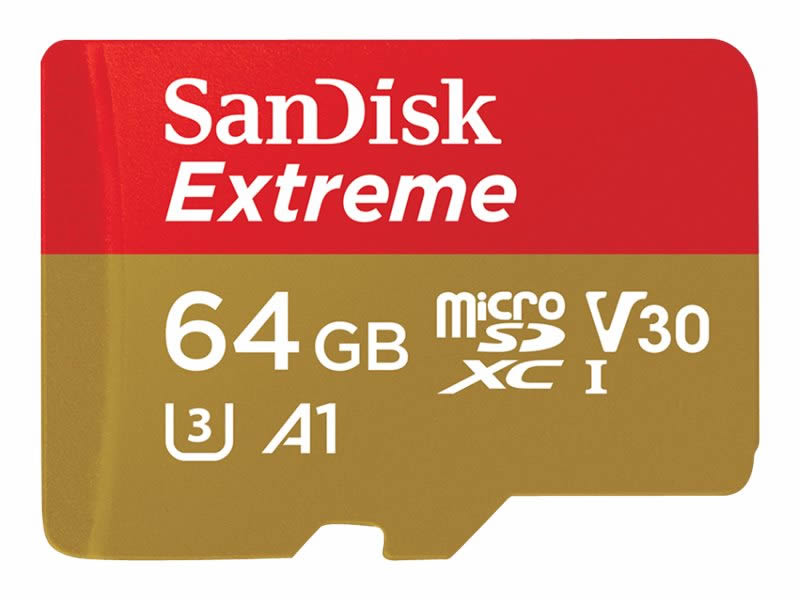 SanDisk Extreme 64 GB MICRO SD