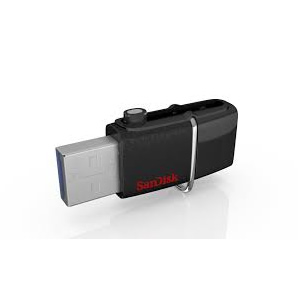 Ver Sandisk Ultra Android Dual USB Drive 64GB Black