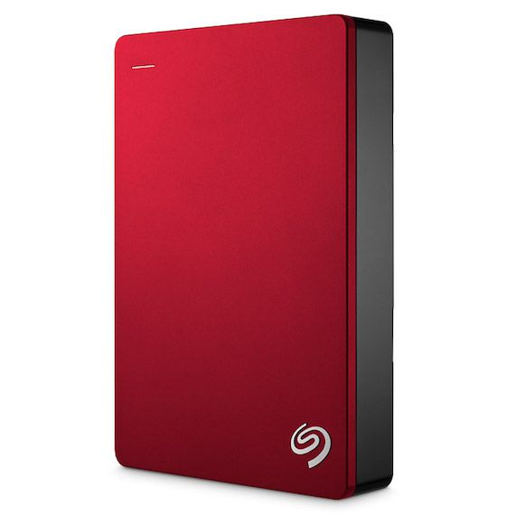 Ver Seagate Backup Plus Portable 5000GB Rojo