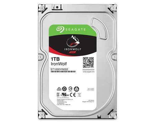Ver Seagate NAS HDD IronWolf 1TB Serial ATA III