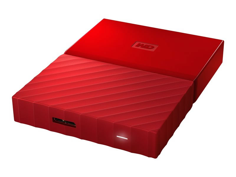 Ver Western Digital My Passport 3TB ROJO WDBYFT0030BRD