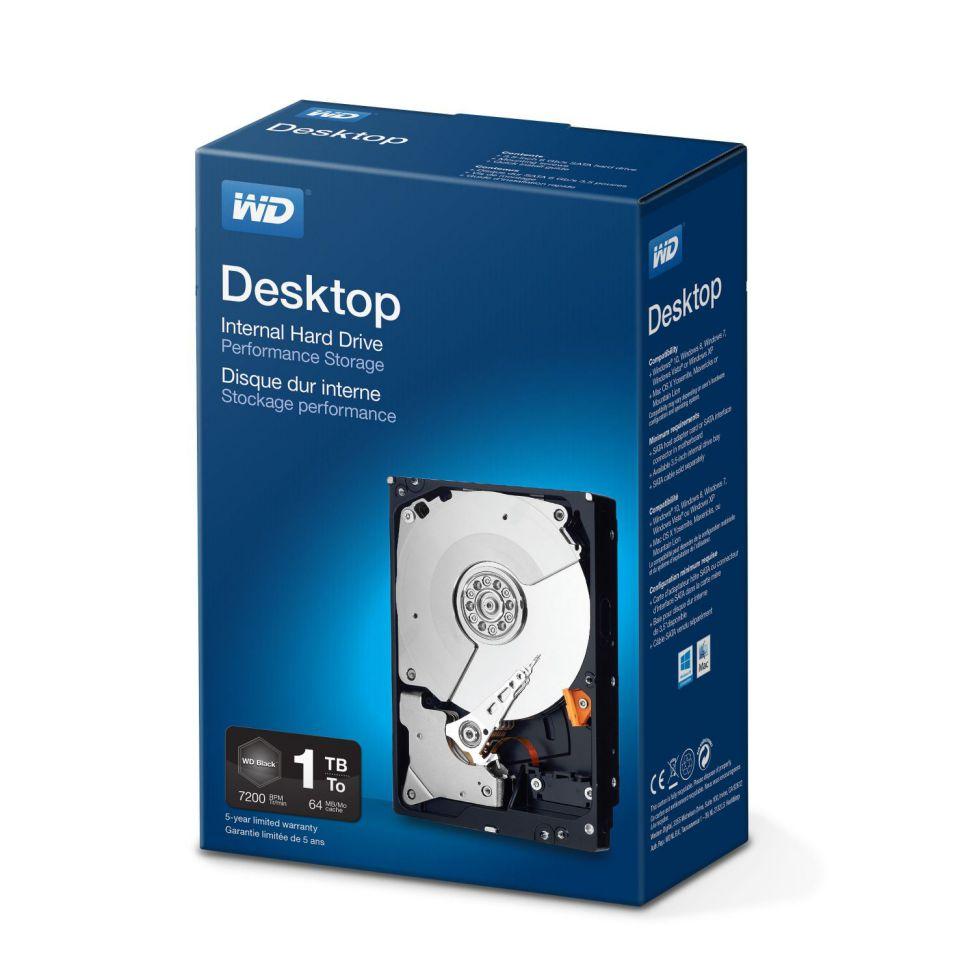 Ver Western Digital Desktop Performance 1000 GB Serial ATA III