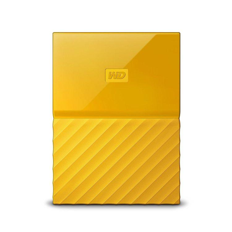 Ver Western Digital My Passport 2000GB Amarillo