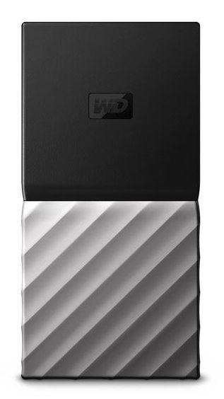 Western Digital My Passport SSD 512GB Negro Plata