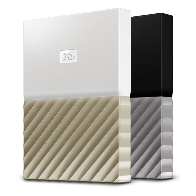 Ver Western Digital My Passport Ultra 4000GB Oro Color blanco