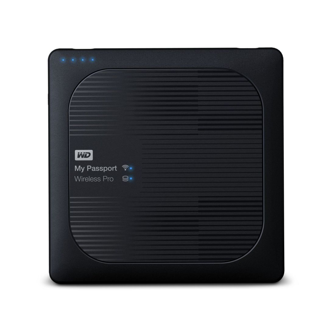 Ver Western Digital My Passport Wireless Pro Wifi 1000GB Negro