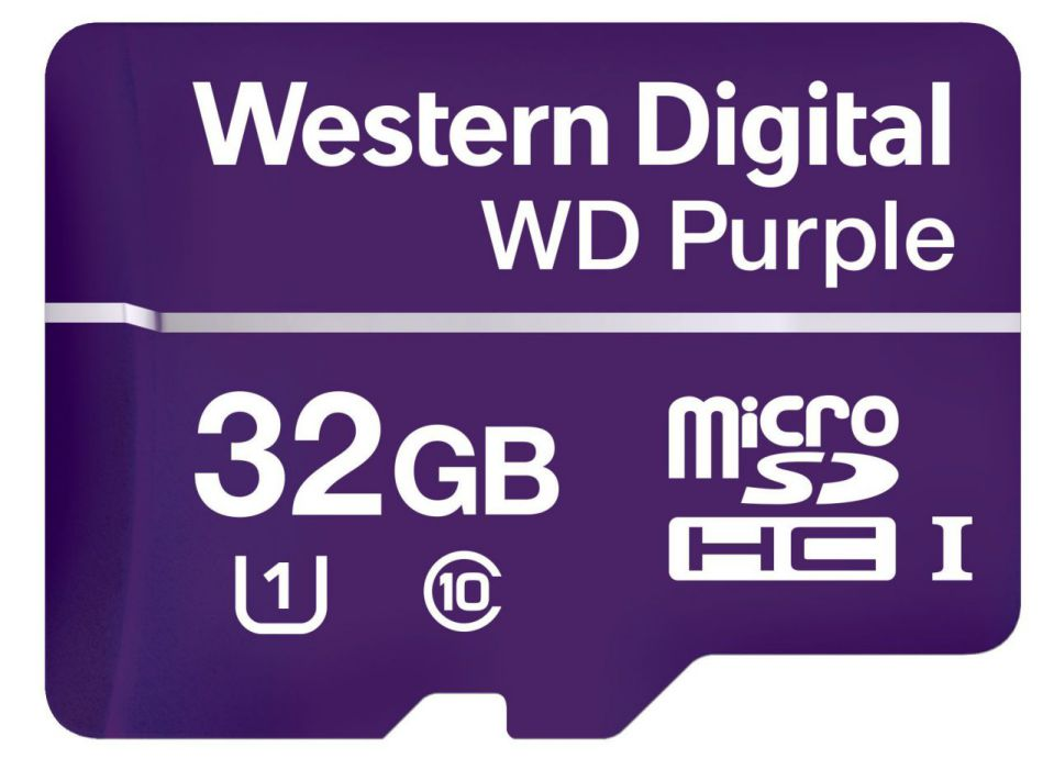 Ver Western Digital Purple 32GB MicroSDHC Clase 10
