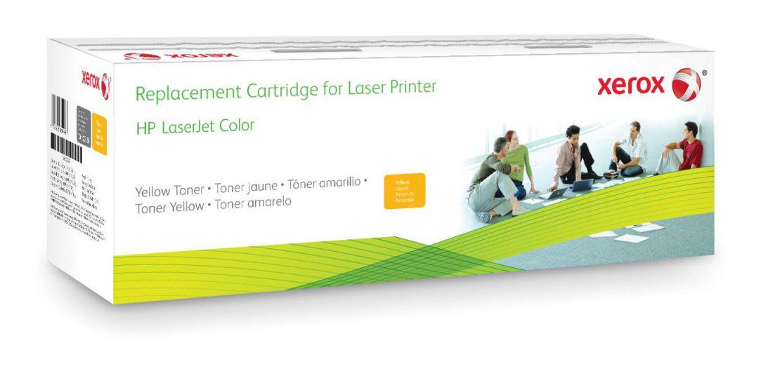 Ver Xerox Cartucho de toner amarillo Equivalente a HP CF302A Compatible con HP Colour LaserJet M880