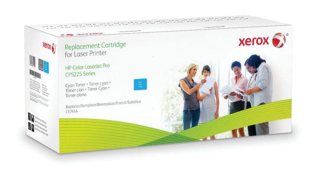 Ver Xerox Cartucho de toner cian Equivalente a HP CE741A Compatible con HP Colour LaserJet CP5225