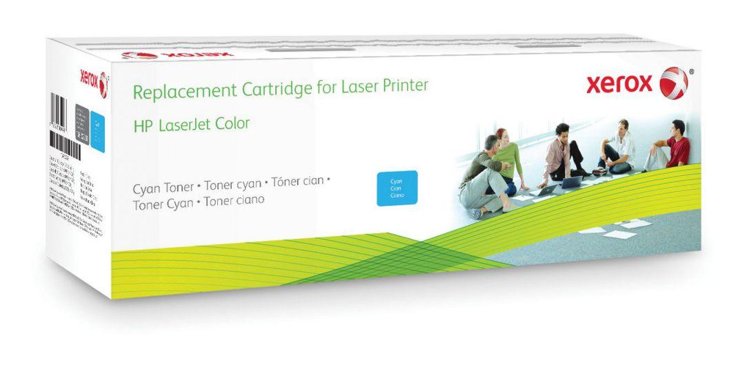 Xerox Cartucho De Toner Cian Equivalente A Hp Cf301a Compatible Con Hp Colour Laserjet M880
