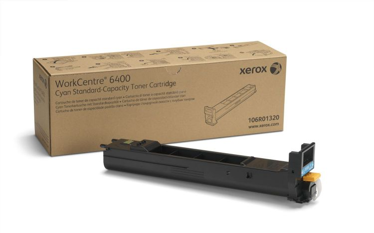 Ver Xerox Cartucho de toner cian de capacidad normal 8000 paginas