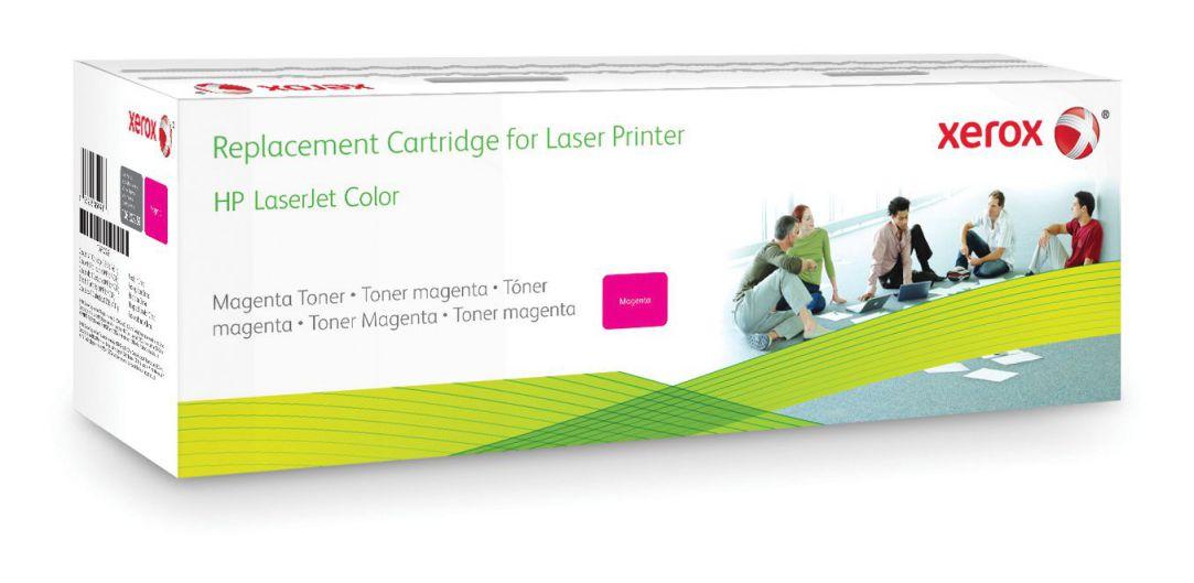 Ver Xerox Cartucho de toner magenta Equivalente a HP CF303A Compatible con HP Colour LaserJet M880
