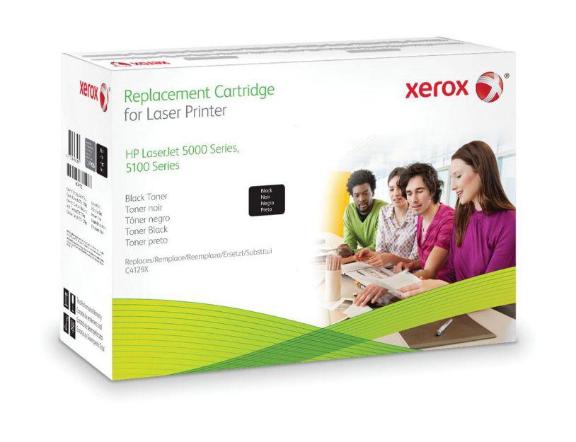 Ver Xerox Cartucho de toner negro Equivalente a HP C4129X Compatible con HP LaserJet 5000 LaserJet 5100