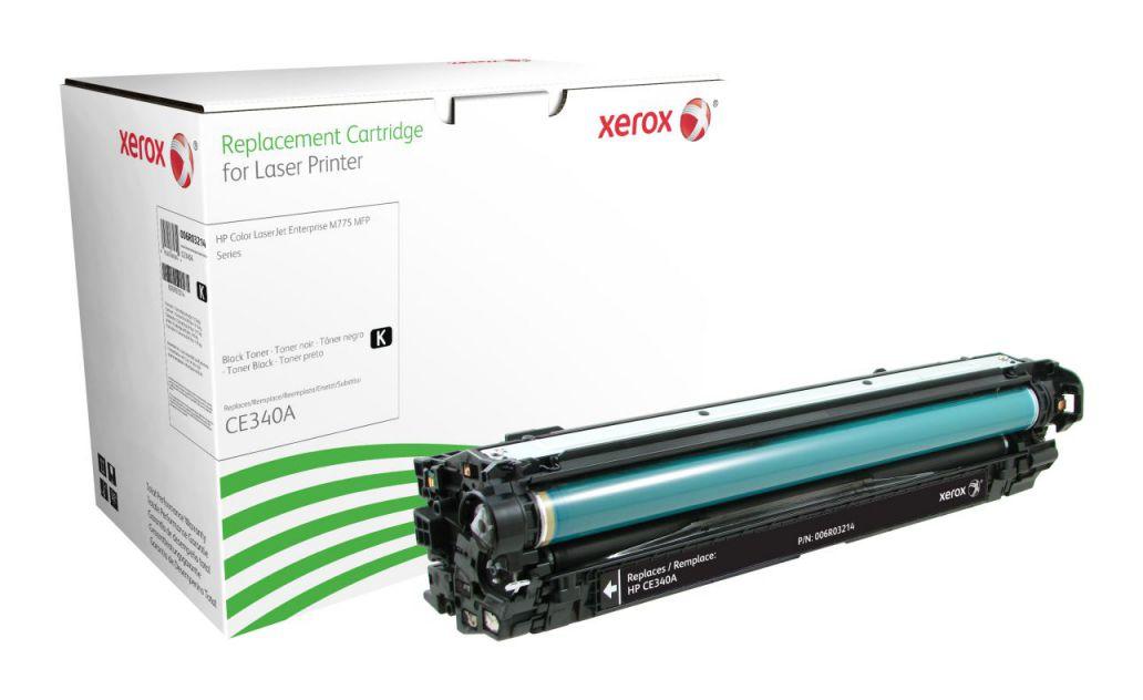 Ver Xerox Cartucho de toner negro Equivalente a HP CE340A Compatible con HP Colour LaserJet M775