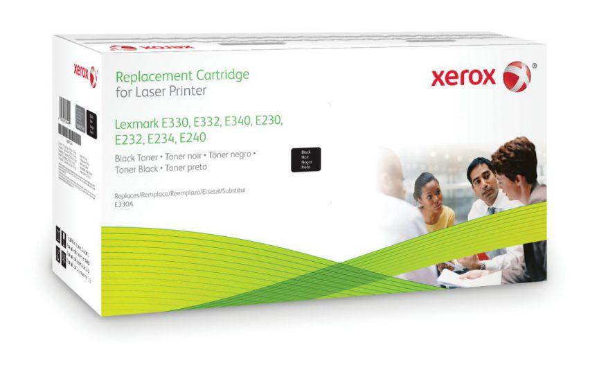 Ver Xerox Cartucho de toner negro Equivalente a Lexmark 24036SE 24016SE Compatible con Lexmark E230 E232 E234 E240 E330 E332 E340 E342