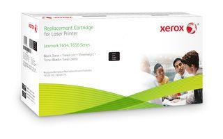 Xerox Cartucho de toner negro Equivalente a Lexmark T654X11E T654X21E