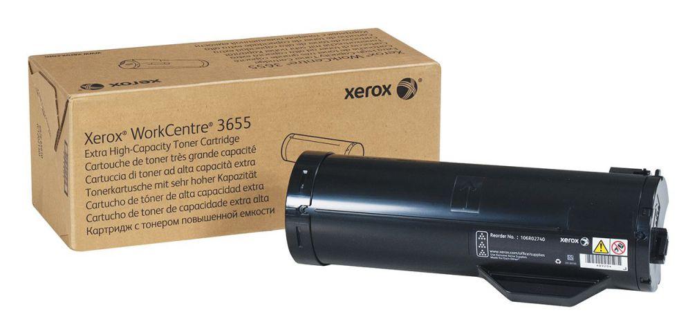 Ver Xerox WorkCentre 3655 cartucho de toner negro de extra gran capacidad 25900 paginas