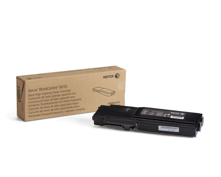 Xerox WorkCentre 6655 cartucho de toner negro de gran capacidad 12000 paginas