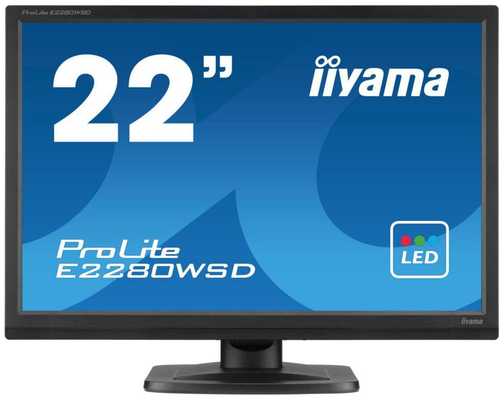 Ver iiyama ProLite E2280WSD B1 22 TN Mate