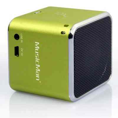 Altavoz Technaxx Soundst Mini Verde