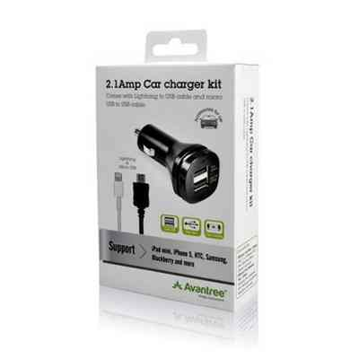Avantree Carg Usb Coche Cable Lightning