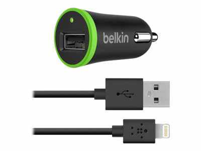 Belkin Car Charger Adaptador De Corriente