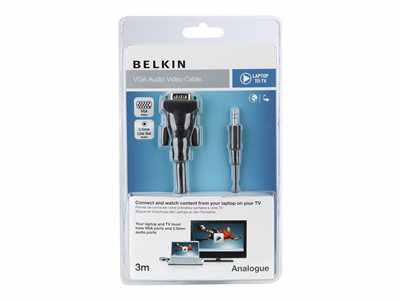 Belkin Cable De Pantalla Audio