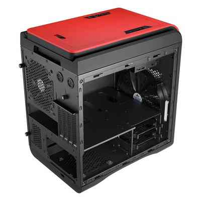 Caja Aer Aerocool Ds Cube Blackred