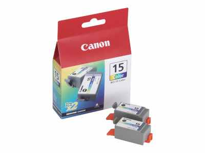Canon Bci 15 Colour Twin Pack