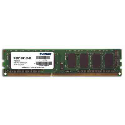 Dimm Ptr 8gb 1600mhz Ddr3 Cl11
