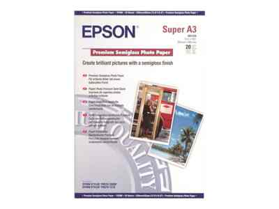 Ver Epson Premium Semigloss Photo Paper