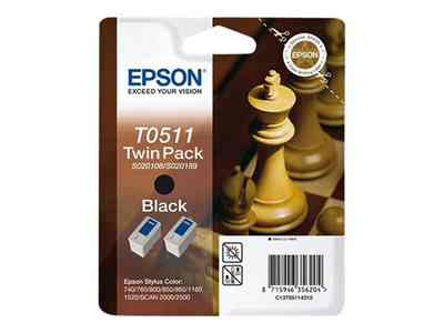 Epson T0511 Twin Pack
