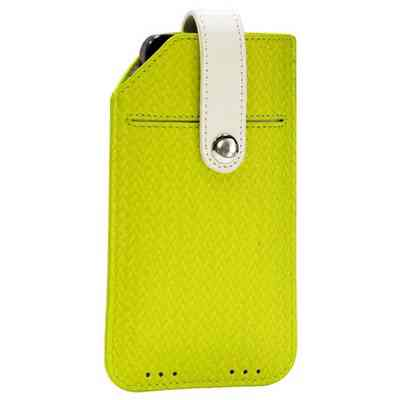 Funda Cuero Tac Iphone 44s5 Sway Verde