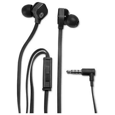 Ver HP H2300 In Ear Sparkling Black Stereo Headset H6T14AA