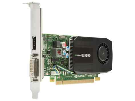 Hp Nvidia Quadro K600 1gb Dl Dvi Dp Graphics Card C2j92at