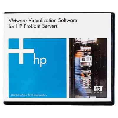 Hp Vmware Vcenter Site Recovery Manager Enterprise 25 Virtual Machines 3yr E Ltu Bd751aae